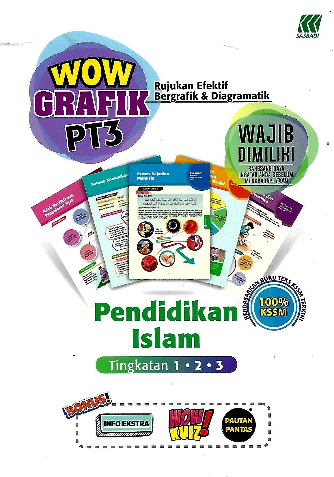 Buku Rujukan Sek Men Wow Grafik Pt3 Pendidikan Islam Tingkatan 1 3
